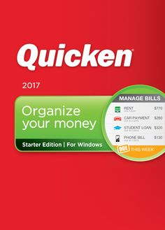 "Quicken Starter Edition 2017 Personal Finance & Budgeting Software [Download]:   divStart taking control of your money.  Download your bank transactions and categorize them in one place/divbr /divtabletrth style=""text-align:left""PC Minimum System Requirements:/b/thth style=""text-align:left""PC Recommended System Requirements:/b/th/trtrtd style=""vertical-align:top""ulliProcessor:   1 GHz or higher/liliRAM:   1 GB or higher/liliHard Disk:   Up to 450 MB, up to 1.5 GB if .NET not installed/..."