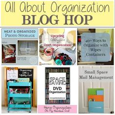 Organize with Wipes Containers - Overdue Organizing