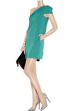 Roland Mouret Cascada one-shoulder stretch-crepe dress