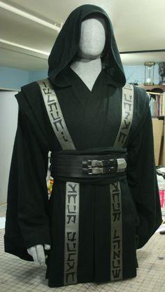Gray Jedi Robes gray and green jedi robes with over-robe for corellian jedi . Jedi Tunic, Jedi Robe, Star Wars Concept Art, Star Wars Art, Jedi Armor, Sith Costume, Jedi Outfit, Sabre Laser, Armadura Cosplay