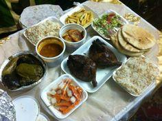 Egyptian meal