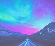 #sky #bright #neon #blue