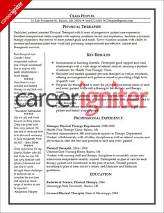 physical therapist resume sample - Sample Occupational Therapy Resume