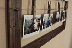 Rustic Multiple Picture Frame