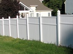 # white # pvc #fence  price per foot of wood fencing vs vinyl fencing