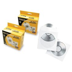 Pack 50 sobres papel CD blanco   Diacash