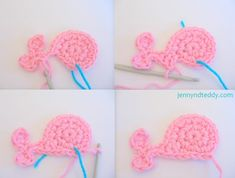 Simple steps to crochet whale
