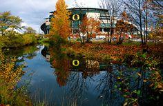 Autzen Stadium- University of Oregon-Eugene, Oregon