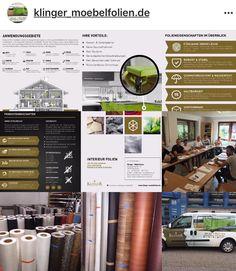 Hochwertige Möbelfolien für Interieur-Design www.klinger- moebelfolien.de #möbelfolie #küchenfolie #home_design #renovieren #sanieren #fliesenfolie