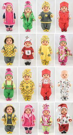 Baby born dress diy 64 New Ideas Baby Clothes Patterns, Doll Sewing Patterns, Sewing Dolls, Clothing Patterns, Baby Born Clothes, Bitty Baby Clothes, Girl Dolls, Baby Dolls, Diy Dress