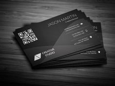 Abstract Background Business Card by bouncy on @creativemarket