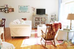 A Sort Of Fairytale: Cottage Color and Style - My Living Room