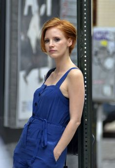 jessica chastain short hair | Jessica Chastain Chops It All Off: See Her New Short Hairstyle