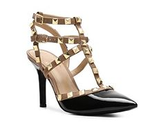 BCBG Paris Darron Pump...ummmm HELLO LADIES, these are lovely knockoffs of the Valentino rockstuds w/out the $1000 price tag!