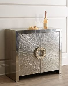 this cabinet would be stunning in an entry way