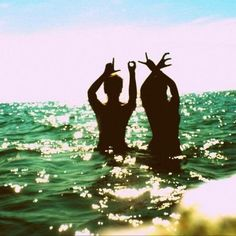 Mission # 2- Recreate this photo with a friend or loved one. Hurry, summer!
