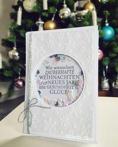 Shakercard Christmas using Stampin Up  Christmascard Schüttelkarte Weihnachtskarte