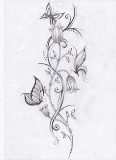 I am thinking ankle tattoo, extend some of the vines around the foot, and have this go behind the ankle.