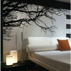 Bedroom wall idea