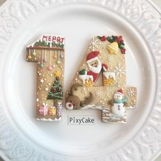 The Best Decorated Christmas Cookies - Celebrate and Inspire Christmas Sugar Cookies, Christmas Sweets, Noel Christmas, Holiday Cookies, Christmas Baking, Gingerbread Cookies, Christmas Parties, Christmas Gingerbread, Christmas Countdown