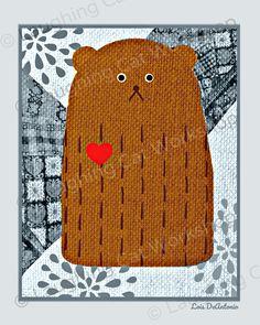 Great summer sales on cute bear art print whimsical baby nursery Baby Nursery Art, Baby Nursery Themes, Baby Nursery Neutral, Woodland Nursery, Toddler Room Decor, Boys Room Decor, Playroom Decor, Funny Bears, Cute Bears