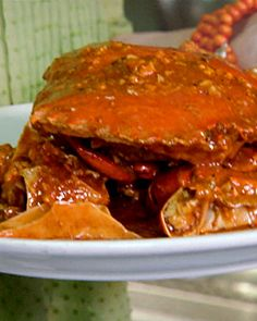 Chili Crab - I might have to make this for @rhesse sometime