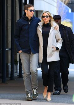 Last photos of Ivanka Trump and Jared Kushner out for Easter Sunday brunch before she gave...