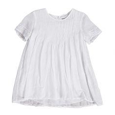 Da 2 anni a 14 anni abito bianco femmina capo fresco e confortevole - P/E 2016