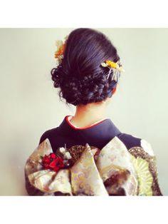 【結婚式2015】着物・袴・和装・浴衣に!入学式・卒業式・成人式のヘアアレンジ髪型参考画像集 - NAVER まとめ