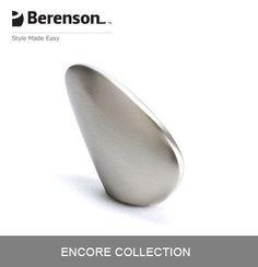 Berenson Cabinet Hardware: Item No 3032-1BPN-P Cabinet Knob in Brushed Nickel.