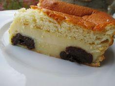 Magic cake et pruneaux