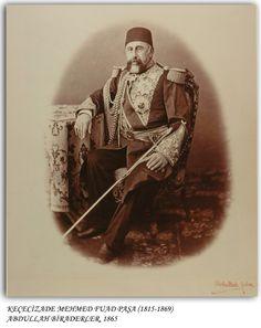 Keçecizade Mehmet Fuad Paşa 1865 Ulsan, Ottoman Empire, Historical Pictures, Vintage Photos, Istanbul, Army, History, Antiques, Prints