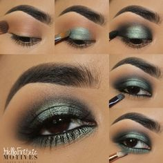 prom makeup – Hair and beauty tips, tricks and tutorials Eyeshadow Looks, Eyeshadow Makeup, Makeup Cosmetics, Makeup Eyes, Eyeshadows, Eye Makeup Steps, Tips Belleza, Makeup For Brown Eyes, How To Apply Makeup
