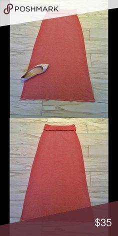 Max Studio Super Cute Maxi Skirt, NWOT!! Cute and Comfy and Perfect for Warmer Days Ahead!! Max Studio Skirts Maxi