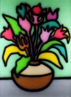 Howard ARKLEY (b.1951; d.1999) - STILL LIFE, TULIPS