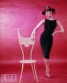 Natalie Wood in LBD
