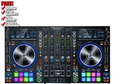 MC7000 is the professional DJ controller with 4-channel Serato DJ capability and dual USB connections.