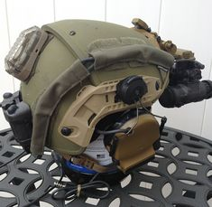Army Helmet, Combat Helmet, Helmet Armor, Tactical Helmet, Airsoft Helmet, Tac Gear, Tactical Equipment, Military Gear, Helmet Design
