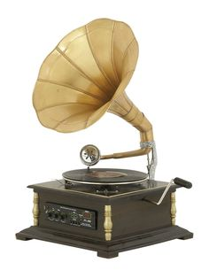 Metal Gramophone