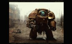 Amazing Warhammer 40K Deathwing Exterminator... #WOW