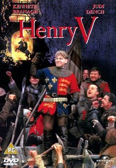 Branagh doesn't always delight me, but I'm very fond of his Henry V, because he's such a snotty punk. :P