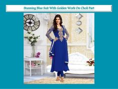Kirti Senan Designer Blue Anarkali Suit. log on to @ www.panacheindia.com #new #images #colorful #indian #bollywood #designer #latest #indianwear #india #indian #ethnic #ethnicwear #indianethnicwear #chudidar #anarkali #anarkalisuits #women #fashion #traditional #cultural #indiantradition #indianculture #unique