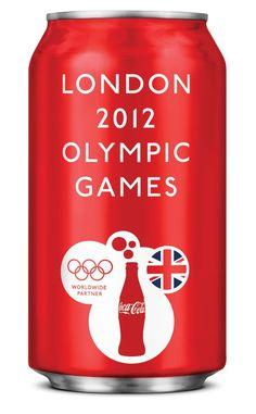 Coca Cola Packaging For The London 2012 Olympic Games Vintage Coca Cola, Coca Cola Can, Always Coca Cola, World Of Coca Cola, Coca Cola Bottles, Coke Cans, Pepsi Cola, London Olympic Games, Sodas