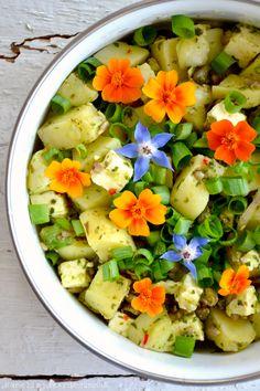 Kanelia ja kardemummaa: Puutarhurin perunasalaatti