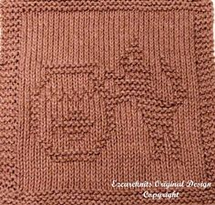 Knitting Cloth Pattern FISHBOWL KITTY Instant by ezcareknits, $3.00
