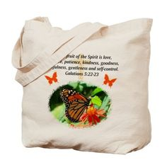 GALATIANS 5 Tote Bag Spiritual, Christian, and inspirational designs from http://www.cafepress.com/heavenlyblessings #Christiangifts #Scripturegifts #Jesusgifts #Scripture #Bornagain