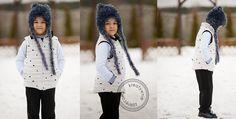 Miekkie fabric - Small bears on horizon Photos by Kreatywnie Zakrecona.
