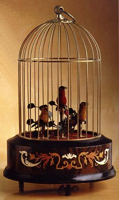 ~~ Always wanted one of these ~~ Exquisite and Rare Music Boxes, Singing Birds, Mechanical Birds, Faberge Imperial Musical Eggs, Antique Music Boxes Antique Toys, Vintage Toys, Antique Music Box, Vintage Music Boxes, Toy Theatre, Music Jewelry, Bird Boxes, Pretty Box, Jewellery Boxes