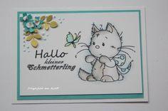 blog.karten-kunst.de - ATC Katze 2. Wee Stamps Playful Kittens
