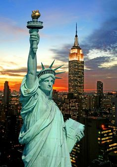 Statue of Liberty, New York, USA #MyInterfloraMum